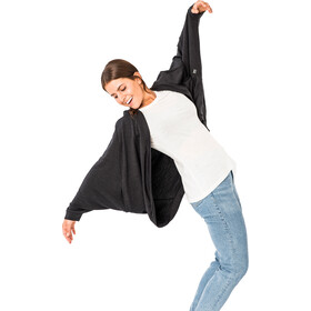 super.natural Loose Chaqueta Mujer, jet black melange